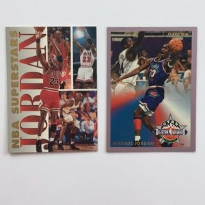 Other - Michael Jordan 2 Fleer basketball cards